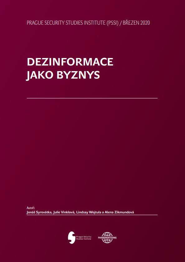 Dezinformace jako Byznys Cover Photo
