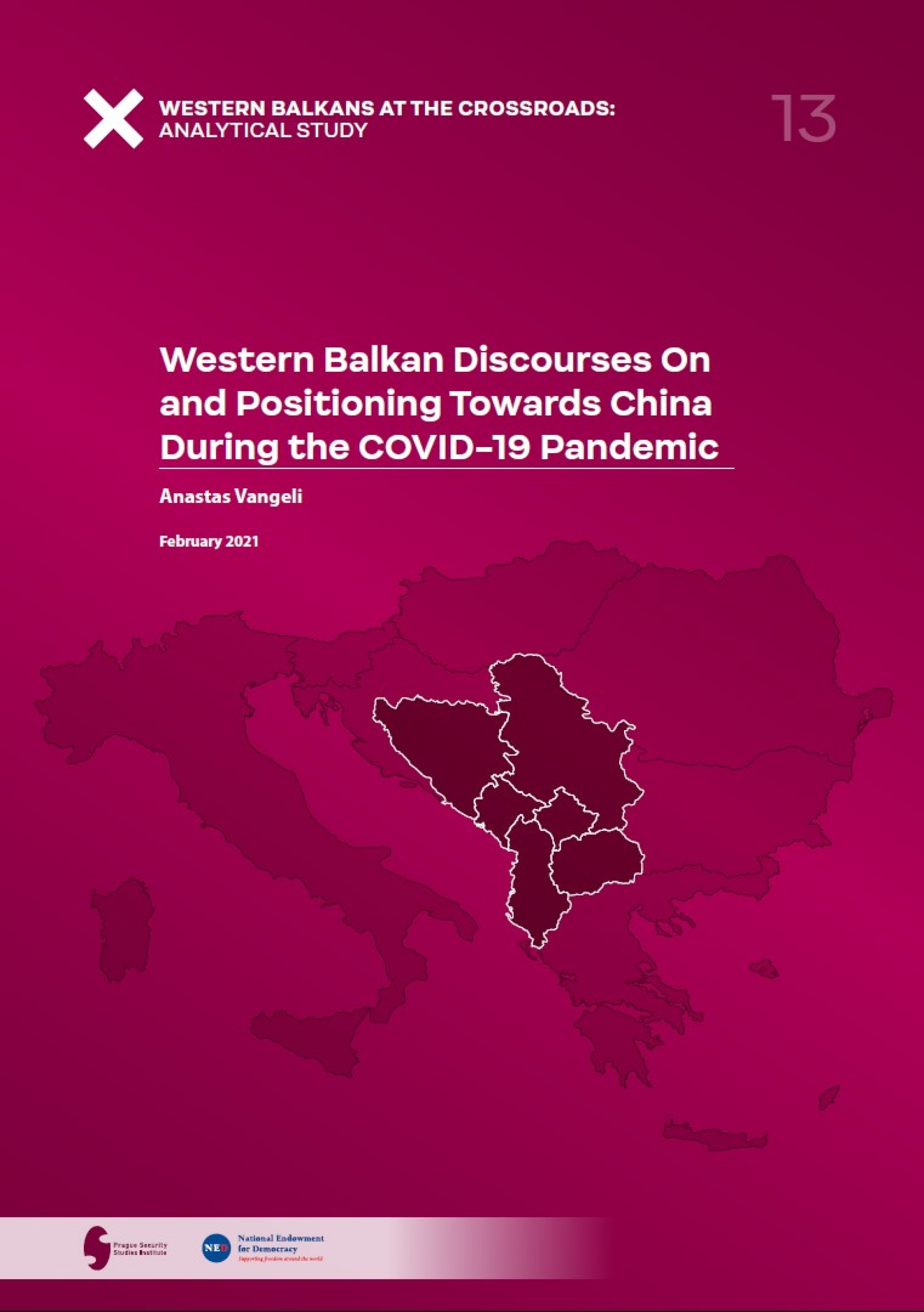 Western Balkan Discourses On and Positioning Towards China During the COVID-19 Pandemic COVERPAGE
