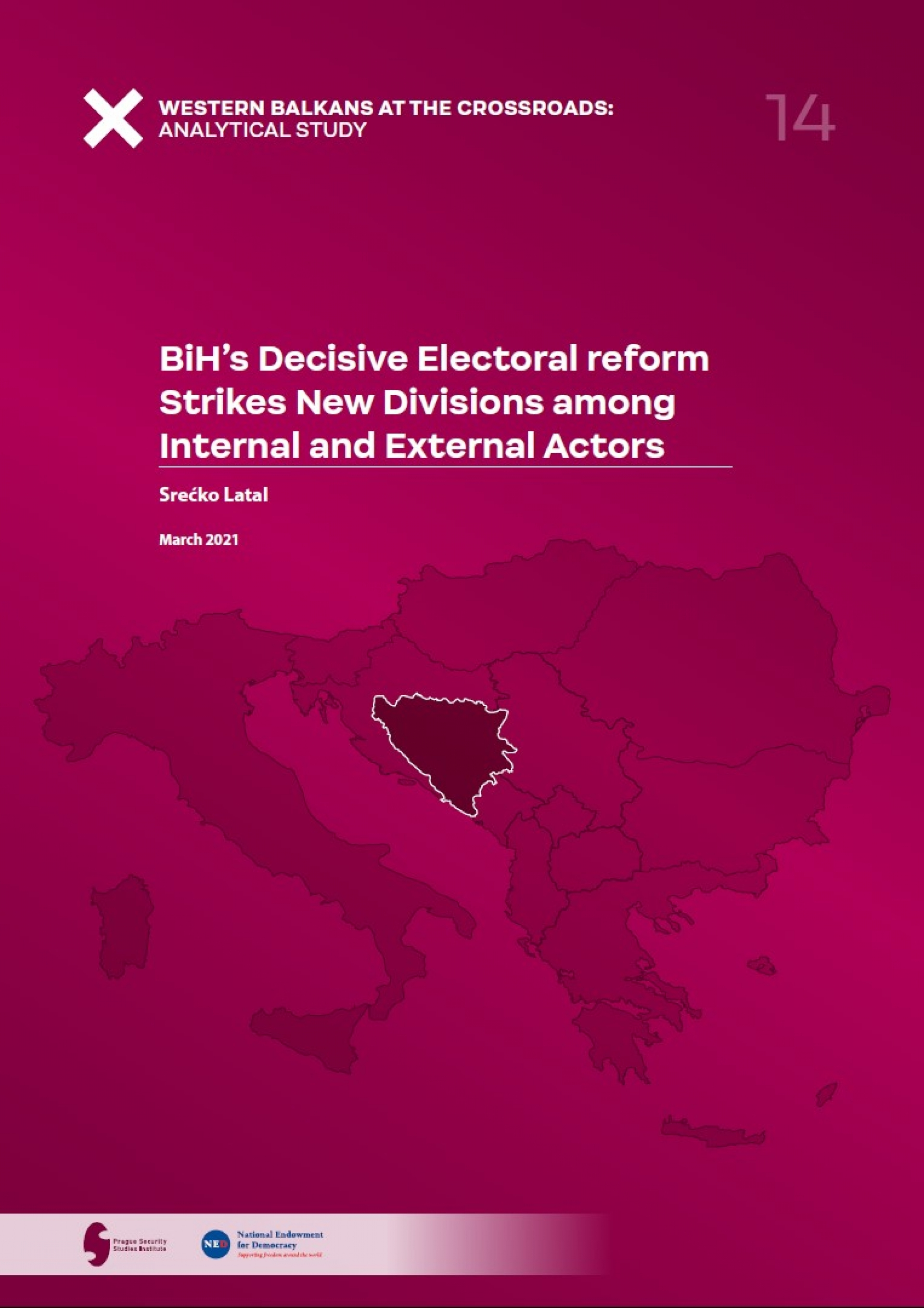 BiH's Decisive Electoral reform Strikes New Divisions among Internal and External Actors Coverpage