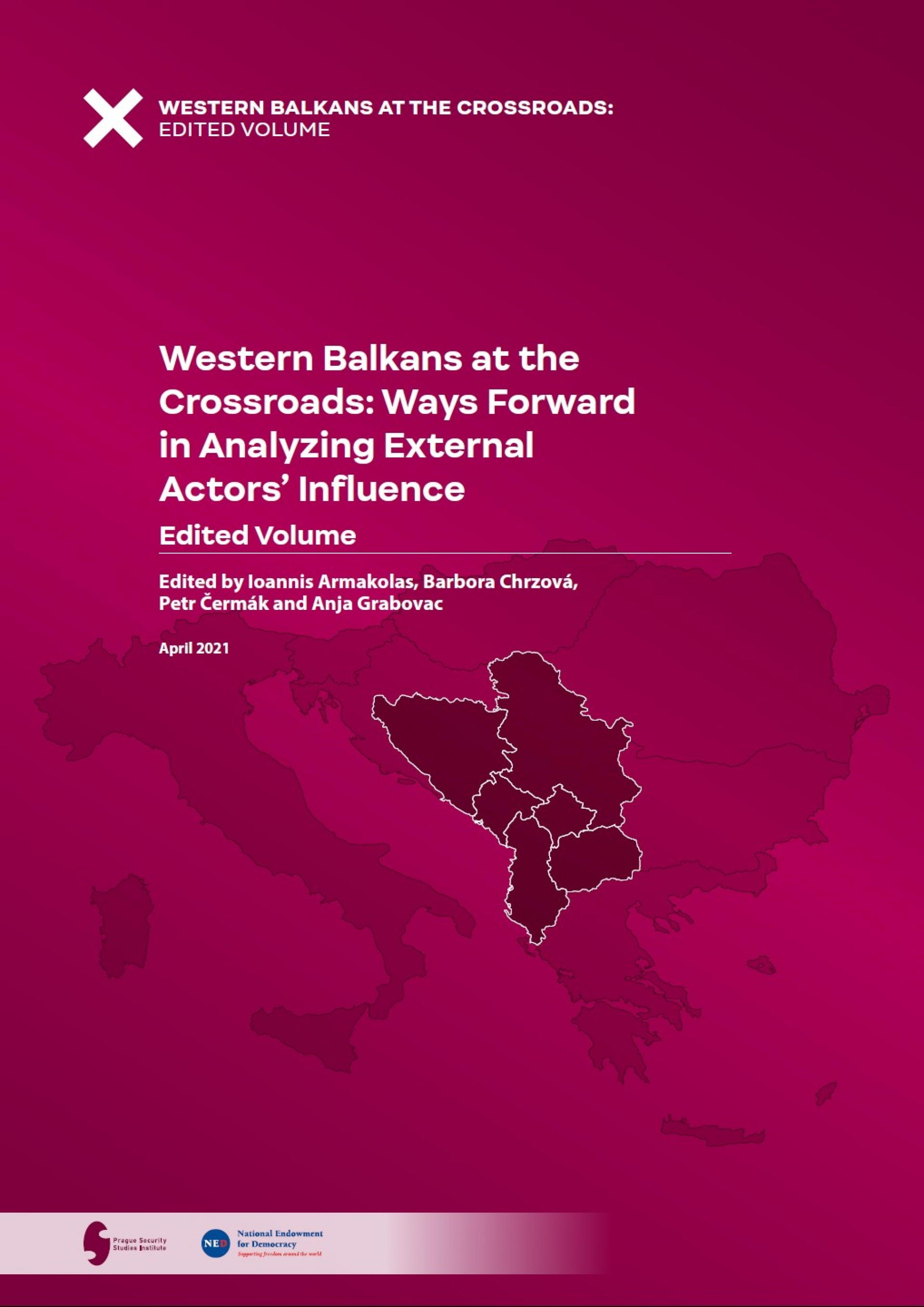 Western Bakans at the Crossroads published Coverpage