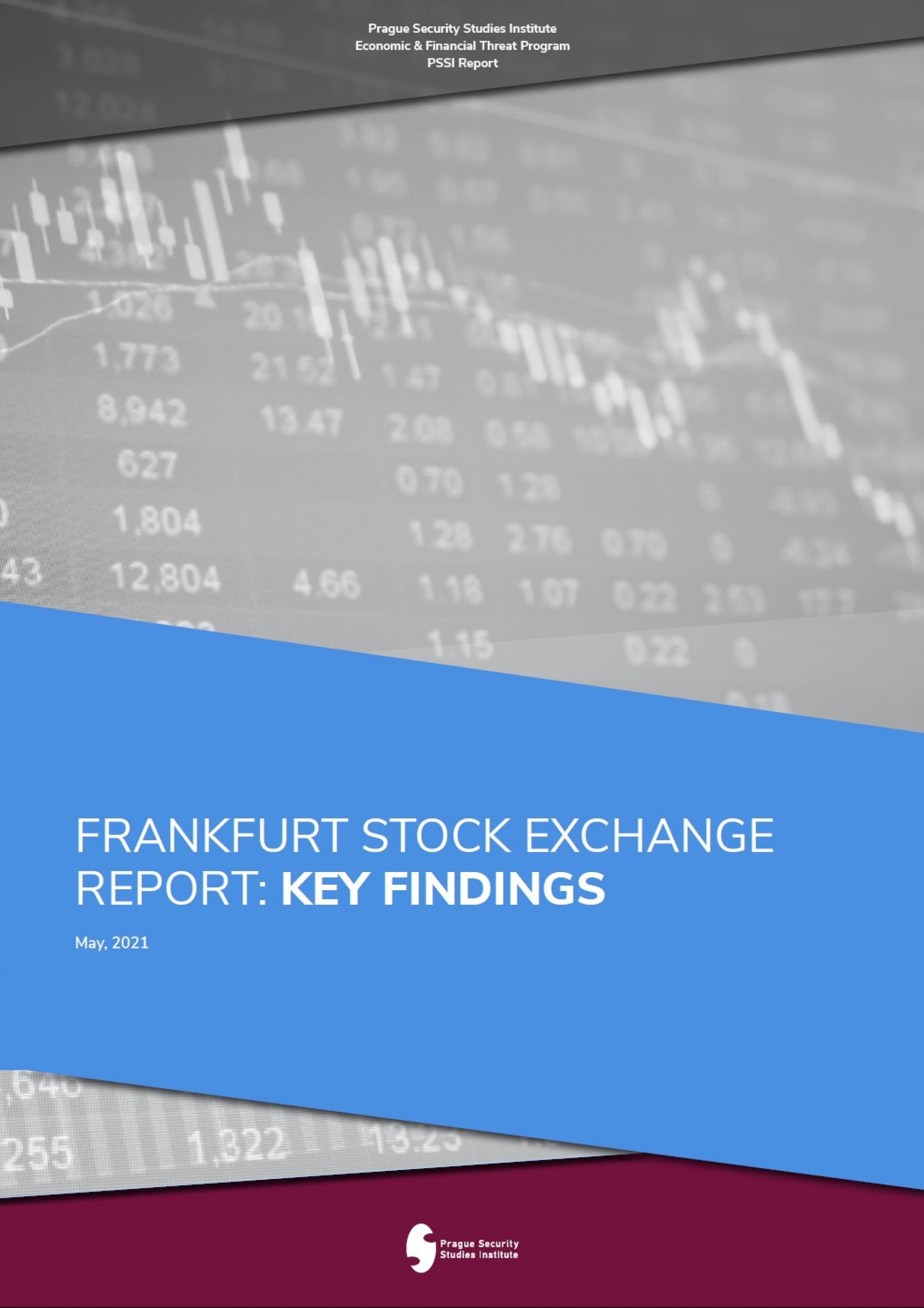 Frankfurt Report Summary Key Findings Coverpage