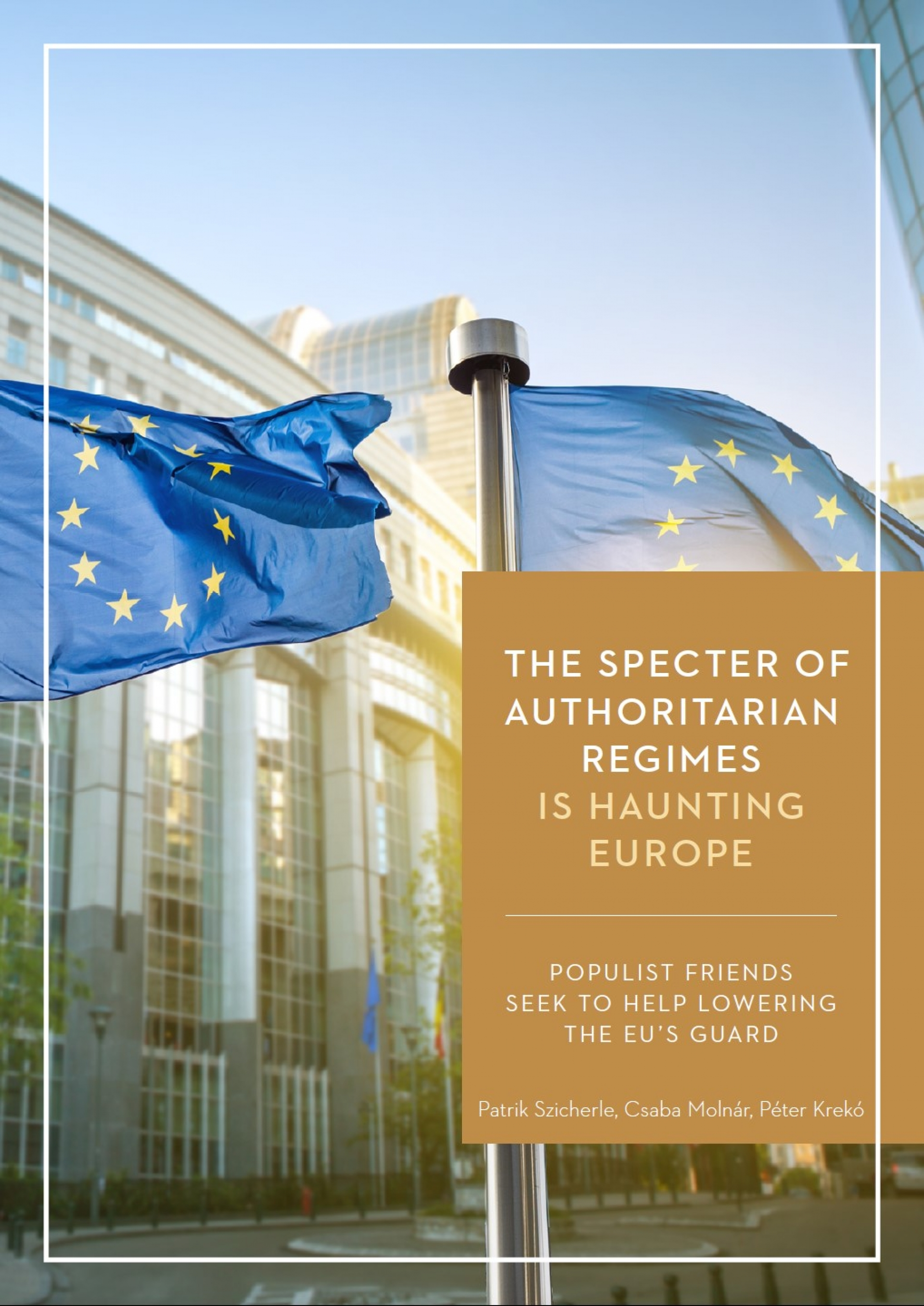 The Specter of Authoriatarian Regimes is Haunting Europe - Coverpage